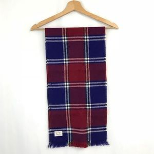 Vintage Scottish Virgin Wool Scarf